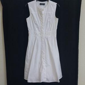 Club Monaco Button Front Fit Flare Dress 4